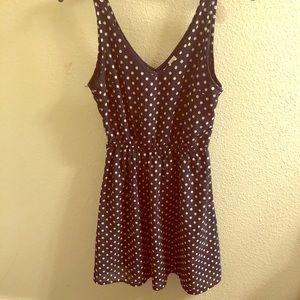 H&M Polka Dot Fit & Flare Dress